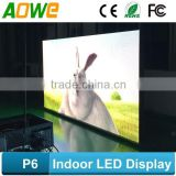 2015 new product p6 led bar graph display xxx photo, Ultra thin led display screen, light weight led board