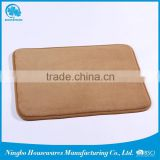 Promotional custom best selling foam non-slip room memory bath mat