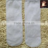 Men Bamboo Fiber Black White Gray Stockings Middle Socks