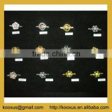 Fashion crystal shoe buckle clips
