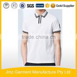 custom simple basic cotton men polo shirt OEM new design low MOQ factory in china