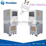 Portable fiber laser metal engraving machine in China, ring seals laser marking equipment