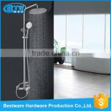 Wholesale wall mounted dual handle S/S 304 bathroom waterfall faucet bath shower faucets