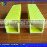 Fiberglass Epoxy square Pipe,High Strength,Electric Insulation,UV Resistant,Flame Retardant