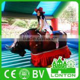 Hot sale inflatable mechanical bull rodeo bull riding rodeo bull for sale