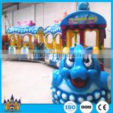 Cheap amusement rides electric mini train amusement kiddie rides ocean track train for sale