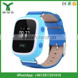 2016 popular kids gsm watch sos panic button gps tracker