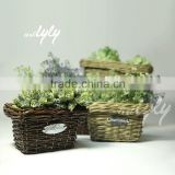 fancy handmade willow wholesale flower vases
