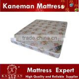 Cheap polyester fabric spring mattress for africa angola market