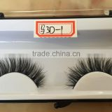 new products lightweight natural 3d horse hair eyelashes