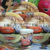 Themed Boys Birthday Party Supplies & Decorations Cars Birthday PARTY Supplies FAVORS Cup Napkin Banner