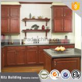 Solid wood kitchen reface, cherry antique kitchen cabinet