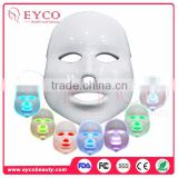 EYCO led screw in bulbs blue light therapy side effects best uv nail lamp 7 colors Led face mask