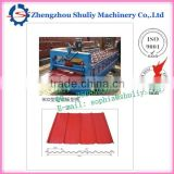 900 model hot sale concrete color concrete roof tile machine from China manufacturers
