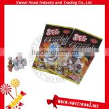 Bulk Stone Shaped Milk Chocolate Candy in Bag Packing