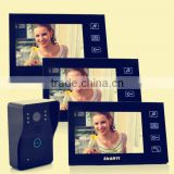 2.4GHz wireless Ultra-slim full-touch screen Water and oxidation proof battery operated wireless video door phone