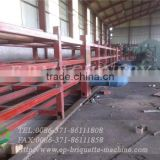 Ore briquettes-food and vegetable hot air chain plate dryer with high efficiency with CE