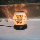 Cute tiger pattern on item essential oil lamp from Vietnam