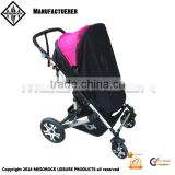 Safe outdoor baby sunshade for pram mosquito net sunshade for baby strollers