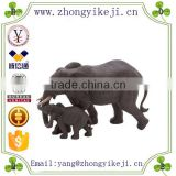 2015 chinese factory custom made handmade carved hot new products resin stone elephant garden statues