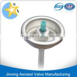 1 inch Aerosol Powder Valves/ tinplate powder spray valves/powder aerosol valves with actuator