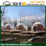 Dia 5-30m Steel Structure Geodesic Dome Tent With Colorful PVC Fabric
