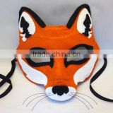 alibaba express hot sale hight quality products eco friendly handmade wholesale felt fox design masquerade mask made in china