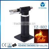NEW Portable Refillable Butane Gas Micro Butane Gas brazing Torch Lighter With Lock YZ-802