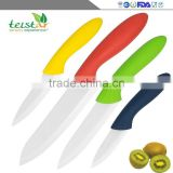 2015 New Design 4 piece kitchen Ceramic Knife sets with Cutting board