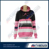 Active league team hoodies sublimation gym custom hoody sweater sport cotton fleece hooded sweater wear