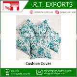 2017 Custom OEM Printed Cotton Cushion Cover Made in India