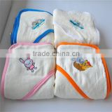 100% bamboo baby hooded bath towel blanket