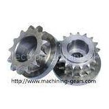 High strength Chain Sprocket Wheel 0.03mm Tolerance Stable Performance