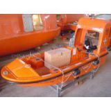 SOLAS CCS/ABS Approved 6 Persons Marine Rescue Boat with Single Arm Davit Arm Davit Rescue Boat Davit