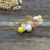 Hair Comb Rhinestone Pearl Crystal Bridal Tuck Comb Star Oyster Ball