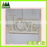 Handmade LOVE letters Home Decoration wooden photo frame