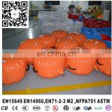 Mini Outdoor Inflatable swin buoys Floating Water Marker Buoy Customized Color