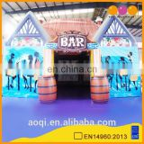 AOQI new design air tight inflatable bar house tent outdoor inflatable party tent for sale