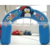 penguin cartoon inflatable promotional digital printing arch/event arch/advertising arch/display arch /inflatable arch door