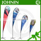 Promotional teardrop custom printing direct manufacturer beach flag