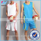 Mens Breathable and Quick Dry Sleeveless Athletic Basketball Uniforms