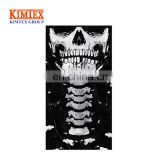 Skeleton Seamless Bandana, X Ray Skull Face Mask for Dust, Music Festivals, Raves, Riding,