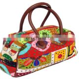 Indian Ethnic Handmade Vintage Cotton Women's Handbag Bag