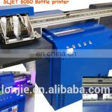 Red wine bottle printer UV printer for Champagne bottle