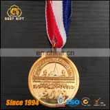 Custom Zinc Alloy Metal Match Souvenir Gold Sport Award Medal