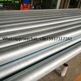 Galvanized Carbon Steel V shape profile wire wrapped screen /continuous slot johnson water well screens