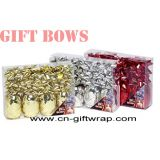 Set of Metallic gift bows and curling ribbon