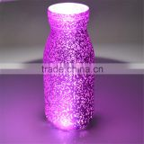 colored glass bottle candle glass craft for gift glass vase for home decoration                                                                         Quality Choice