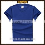 royal blue and basic colors own branded custom t-shirt
