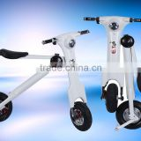 Acetech 2016 500W folding electric scooters/pocket folding bikes/electric bicycles/ mini sport bikes with 35km/h speed